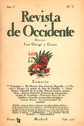 Revista de Occidente (1923-1936)
